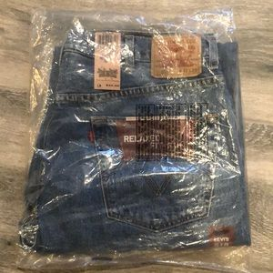 NWT Levi's Relaxed Fit 550 Men's Jeans